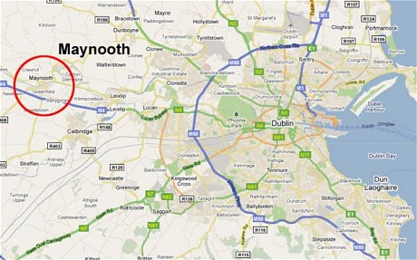 Maynooth on Map