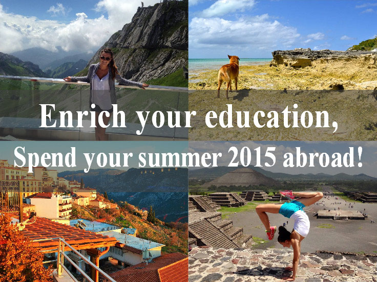 Summer 2015 Abroad